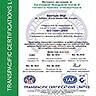 Сертификат за регистрация по ISO 14001:2004 TCL